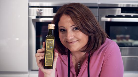 A Tiziana Stefanelli piace l'Olio ExtraVergine di Oliva Lupo